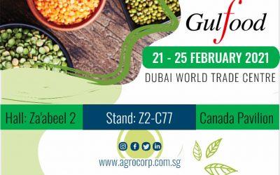 Agrocorp at Gulfood 2021 in Dubai